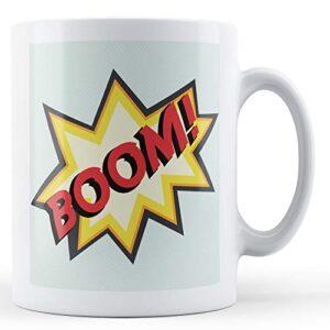 Boom! Pop Art Mug – Printed Mug