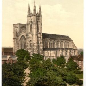 Bridlington, The Priory Church – English Photochrome – EPC080 In Various Finishes & Sizes