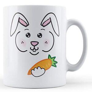 Bunny Face – Printed Mug