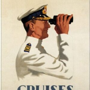 Canadian Pacific Cruises Vintage Poster VSHIP003 Art Print Canvas A4 A3 A2 A1