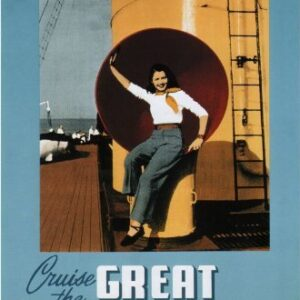Canadian Pacific Great Lakes Cruises Reproduction Vintage Poster VSHIP007 Art Print Canvas A4 A3 A2 A1