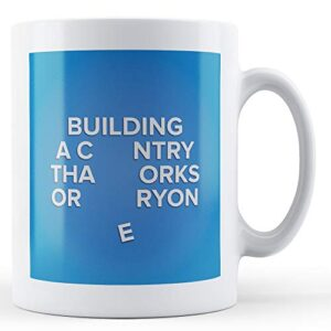 Conservative's Backing Collapse – Printed Mug