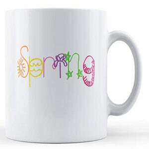 Decorative Spring Season – Printed Mug