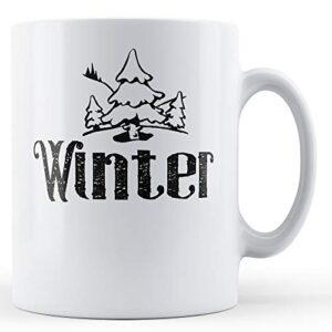 Decorative Winter Season – Printed Mug