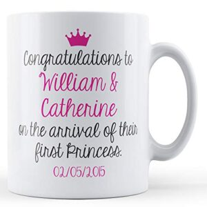Congratulations William & Catherine – Printed Mug