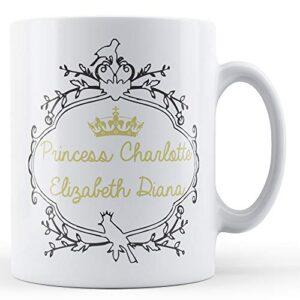 Princess Charlotte Crown – Printed Mug