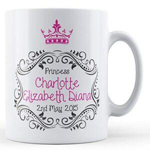 Princess Charlotte – Printed Mug