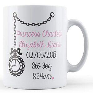 The Princess Charlotte – Printed Mug