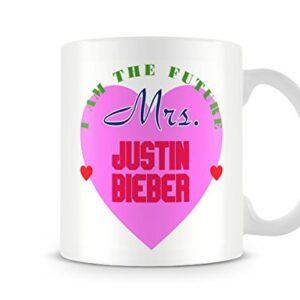 I Am The Future Mrs Justin Bieber Mug – Printed Mug