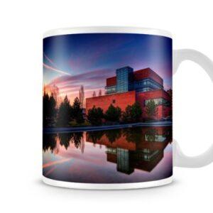 A Modern City Scenery – Printed Mug