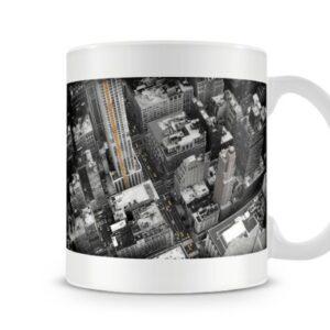 Aerial View Of New York City – Printed Mug