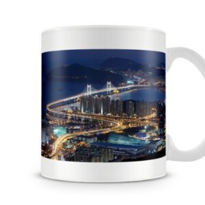Cityscape Korea – Printed Mug