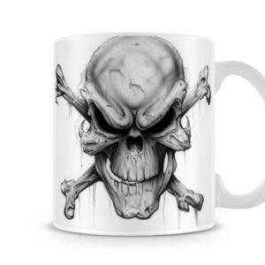 Halloween Skull – Printed Mug
