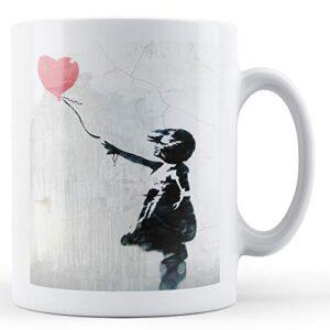 Banksy Balloon Girl 4 – Printed Mug