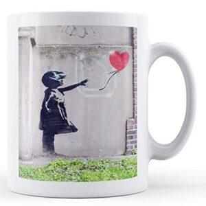 Banksy Balloon Girl 5 [Office Product] – Printed Mug