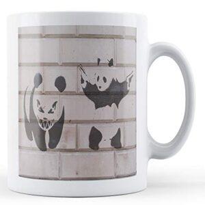 Banksy Hard Pandas – Printed Mug