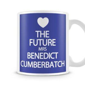 The Future Mrs Benedict Cumberbatch 7 Colours (Blue) – Printed Mug