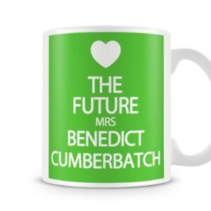 The Future Mrs Benedict Cumberbatch 7 Colours (Green) – Printed Mug