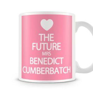 The Future Mrs Benedict Cumberbatch 7 Colours (Pink) – Printed Mug