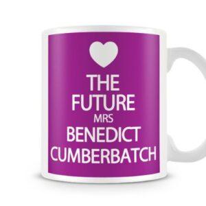 The Future Mrs Benedict Cumberbatch 7 Colours (Purple) – Printed Mug