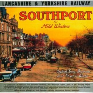 Vintage Lancashire & Yorkshire Railway VTARP087 Matt Satin Canvas A4 A3 A2 A1